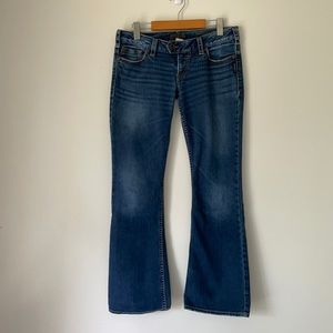 SILVER TUESDAY BOOT CUT MEDIUM WASH JEAN